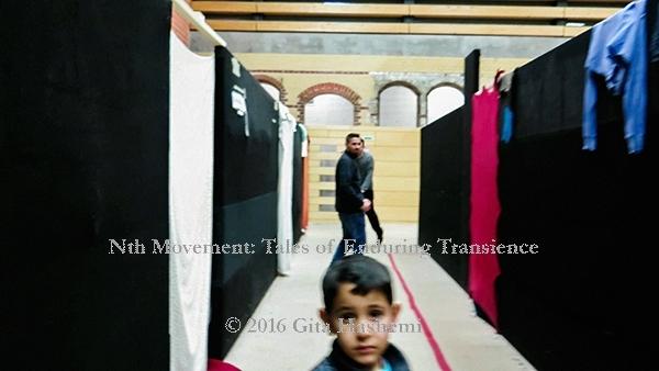 The Gaze - Refugee Camp Berlin